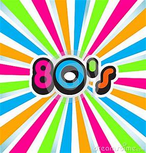 80s Pop Art Background Royalty Free Stock s Image