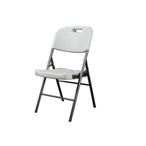 chaise blanche pas cher chaise pliante blanche pas cher idées de décoration