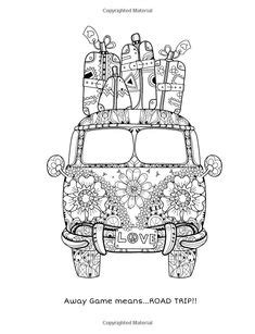 75 Best Hippie Art + Peace Signs Coloring Pages for Adults