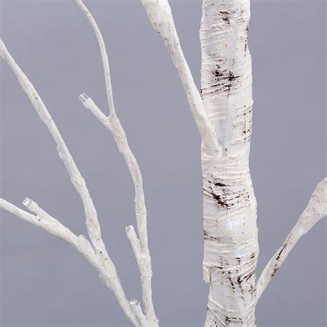 lighted branch tree 4ft 48led birch twig tree branches light warm white