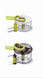 Tefal Manual Food Chopper To Prepare Tasty 5 Seconds Recipes