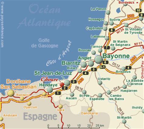 chambre d hote dans les landes plan d 39 acces chambre d 39 hôte jean de luz pays basque