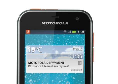 Defy Mini, Le Nouveau Mobile De Motorola Fait De La