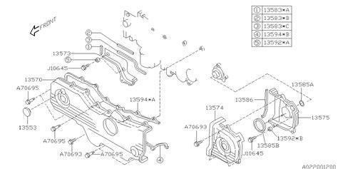 book repair manual 2012 subaru outback spare parts catalogs 13594aa052 genuine subaru slng belt cover 2fr