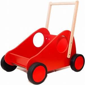 Laufwagen Für Baby : werkst tten sennfeld laufwagen schiebefahrzeug f r ihr kind wundersch n aus buche lackiert rot ~ Eleganceandgraceweddings.com Haus und Dekorationen