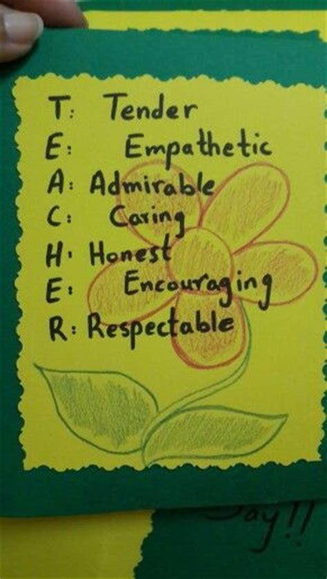 handmade teachers day card teachers day card greeting