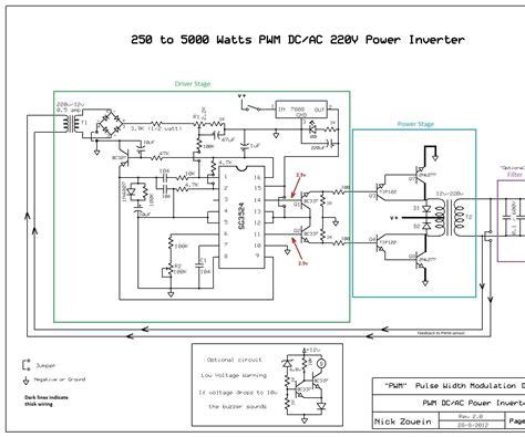 Watts Pwm Power Inverter