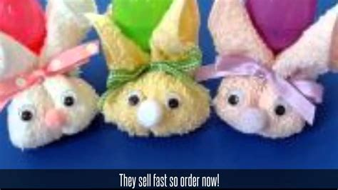 easter crafts to make and sell handmade easter bunnies for sale youtube