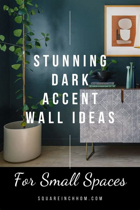 youre gonna these accent walls in small spaces