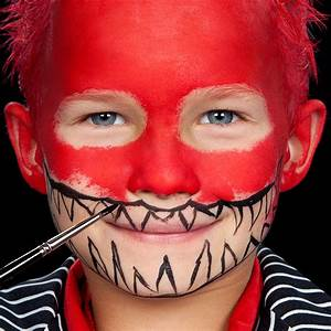 Schminken Zu Halloween : monster schminken f r kinder ~ Frokenaadalensverden.com Haus und Dekorationen