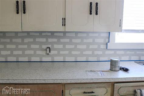 diy subway tile kitchen backsplash diy projects