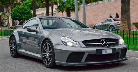 Mercedes Sl65 by 2009 Mercedes Sl 65 Amg Black Series Supercars Net