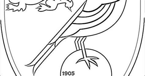 Emblem Of Norwich City F.c. Coloring Page