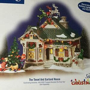 Dept 56 Snow Village® Tinsel & Garland House Christmas