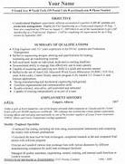 Accounting Job Resume Templates Accounting Jobs Example Of The BestResume In Word Just So You Cansee The Example Resume Examples Free Resume Example Resource LiveCareer Job Resume Samples 1275 Simple Job Resume Examples Simple Job Resume