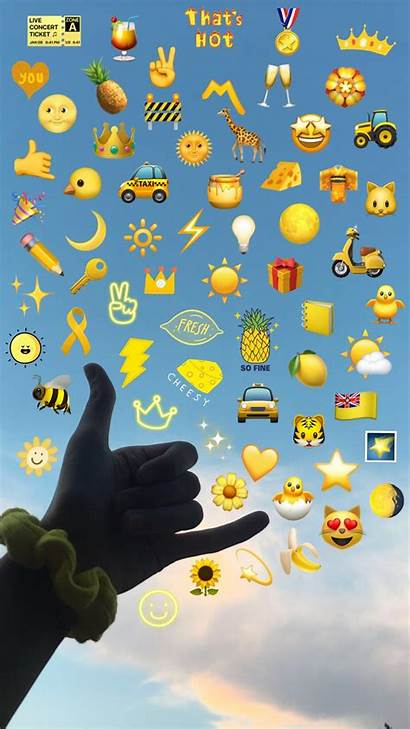 Emoji Aesthetic Iphone Backgrounds Mood Wallpapers Quotes