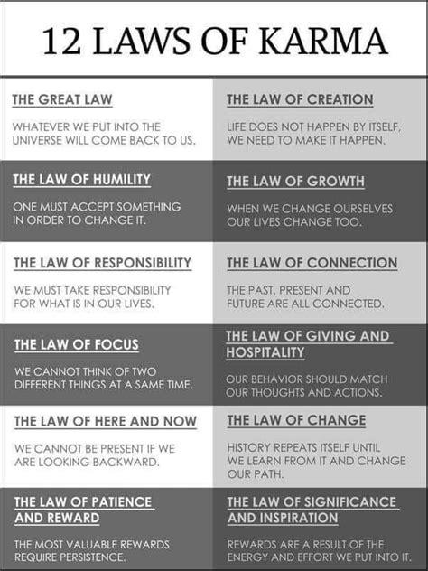laws  karma deep thought law  karma  laws