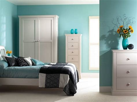 turquoise paint color  trend minimalist house  home ideas
