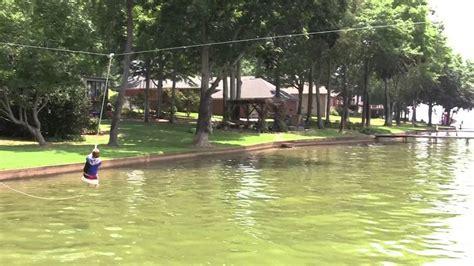 Boat Dock Umbrella by Zip Line Water Using An Umbrella Stand