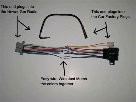 New Factory Radio Stereo Installation Delco Wire