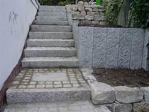 Treppenaufgang Außen Gestalten : steintreppe garten brehm ~ Markanthonyermac.com Haus und Dekorationen