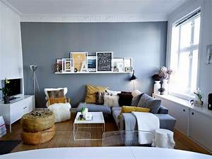 Arrangement small living room interior design ideas for Interior design bookshelf arrangement