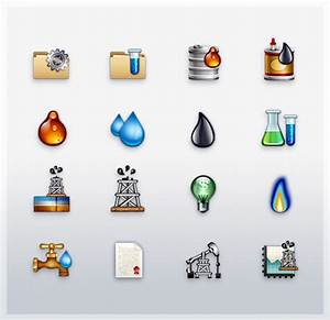 Chemical, Oil, Gas and Energy Icons on Behance