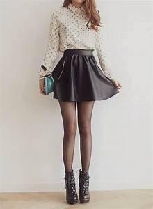 1000+ images about Outfits Faldas on Pinterest | Vintage Tights and boots and Summer
