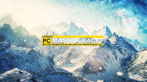 pc master race wallpaper  images