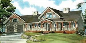 One Story Wrap Around Porch House Plans Danutabois House