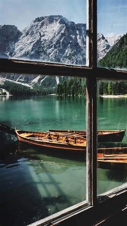 Iphone Lake Wallpapers Max Xs Paisajes Zen