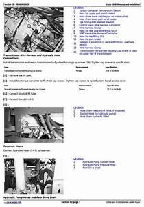 John Deere Backhoe Loaders 310sg  315sg Side Shift Loaders