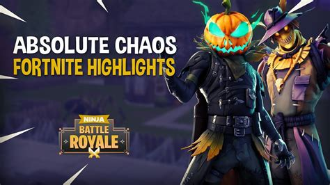 absolute chaos fortnite battle royale highlights