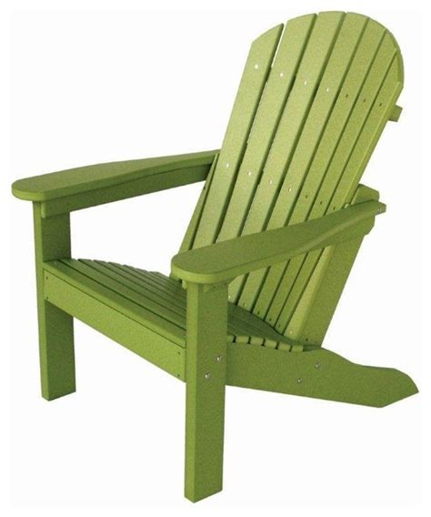 amish made polywood comfo back adirondack chair