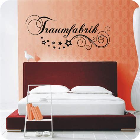 Wandtattoo Schlafzimmer Traumfabrik by Wandtattoo Traumfabrik Wandtattoo Schlafzimmer