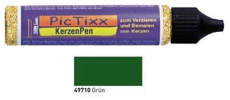 farben für kerzen bemalen hobby line pictixx kerzen pen fl 252 ssiges wachs 29ml 29 farben