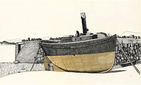 J Boats Careers by Lucien Freud Artist J M Surrealism 1940s
