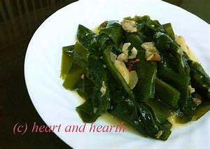 Heart And Hearth  Stir Fried Seaweed  Hai Cai