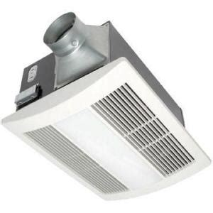 Panasonic Bathroom Exhaust Fans With Light And Heater by Panasonic Whisperwarm 110 Cfm Ceiling Exhaust Bath Fan