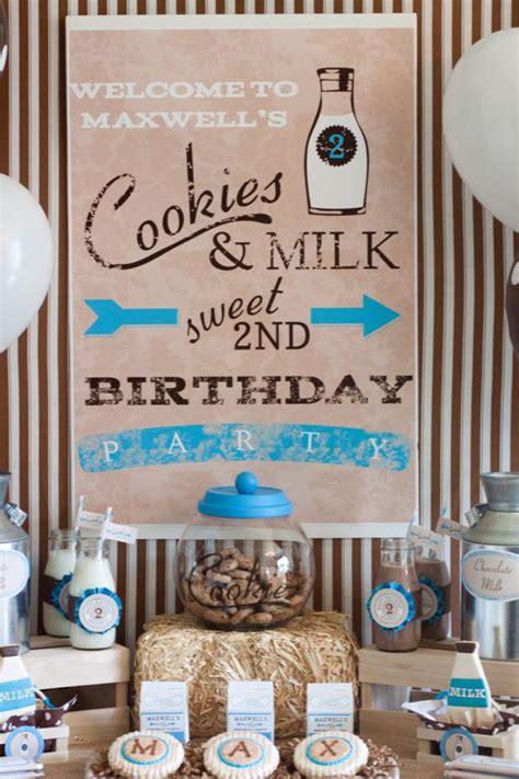 cookies and milk kara 39 s party ideas kara 39 s party ideas milk and cookies 2nd birthday party
