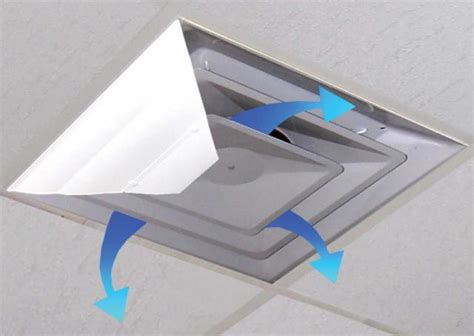 airvisor air deflector for office ceiling vents background