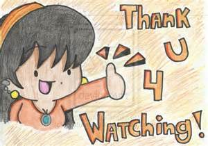 Thanks for Watching Cartoon