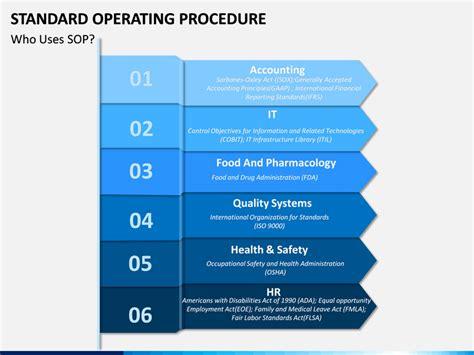 standard operating procedure powerpoint template