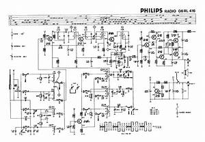Philips 06rl416 Transistor Radio Sch Service Manual