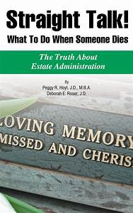 Straight Talk  What To Do When Someone Dies