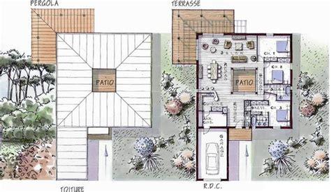 modele maison plain pied 3 chambres maison ossature bois de plain pied 146 m 3 chambres