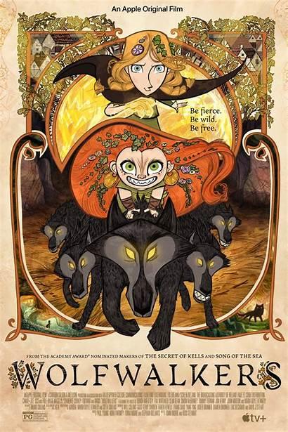 Wolfwalkers Poster Trailer Apple