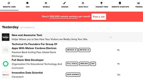 5 Best Websites For Full-time Remote Tech Jobs
