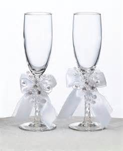 wedding glasses pearl garden wedding accessories