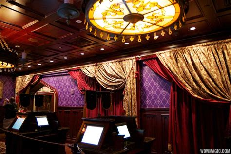 Inside Be Our Guest Restaurant Dining Rooms  Photo 6 Of 19